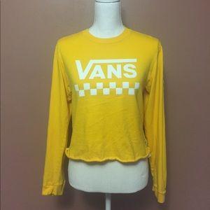 Vans Yellow Shirt